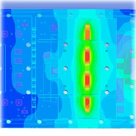 Тепловой анализ печатных плат и электронных устройств