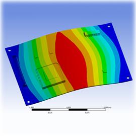 Расчет виброустойчивости печатных плат и элементов конструкции аппаратуры