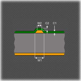 Расчет волнового сопротивления в САПР Altium Designer